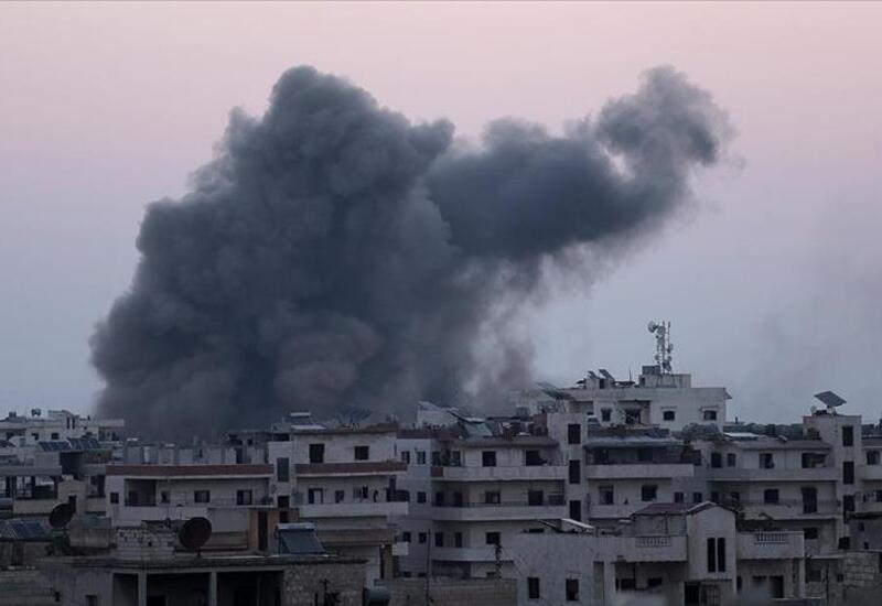Российские самолеты атаковали Идлиб