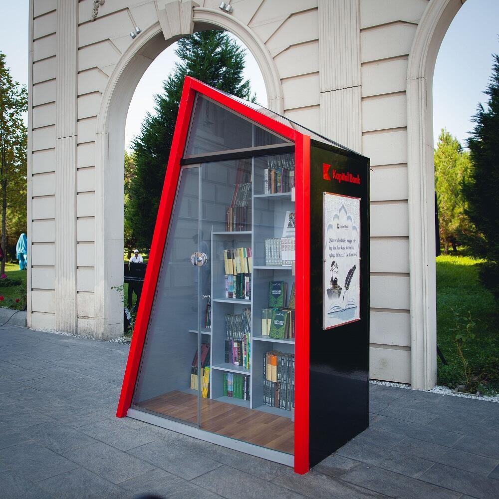 Kapital Bank организовал «Открытые библиотеки» в Гяндже