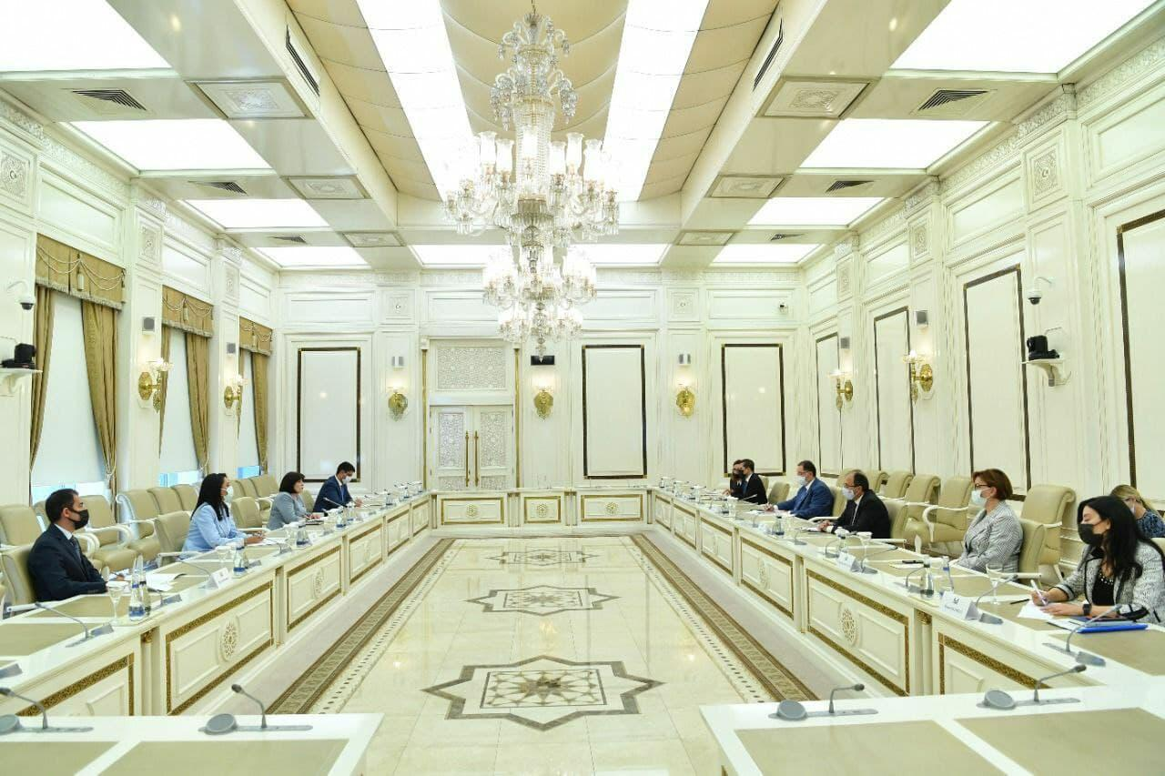 Сагиба Гафарова на встрече с делегацией Ассоциации омбудсменов Организации Исламского Сотрудничества