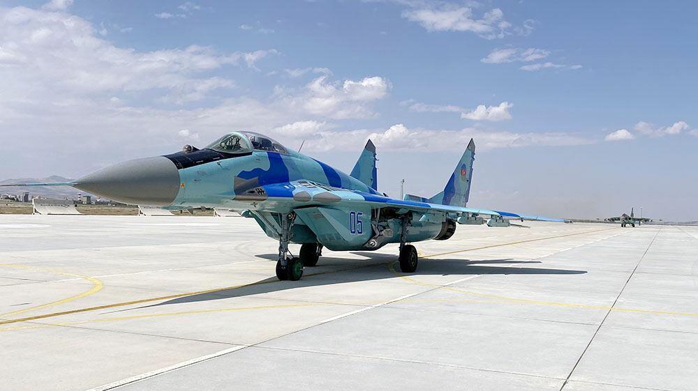 Военные самолеты Азербайджана и Турции совершили боевые вылеты