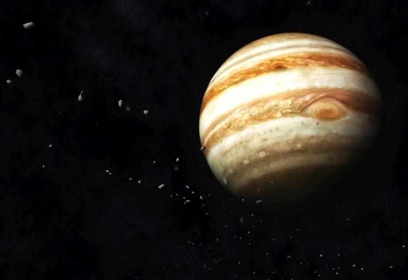 Зафиксировано столкновение Юпитера с неизвестным объектом