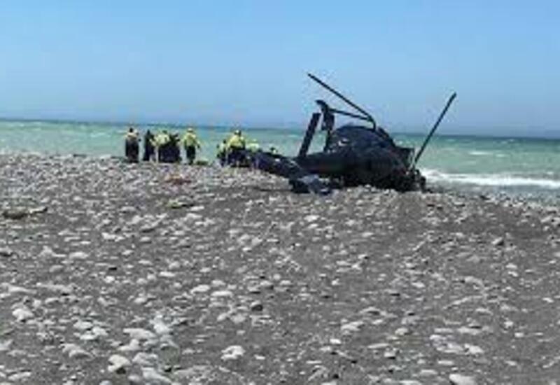 Вертолет разбился на юге Новой Зеландии