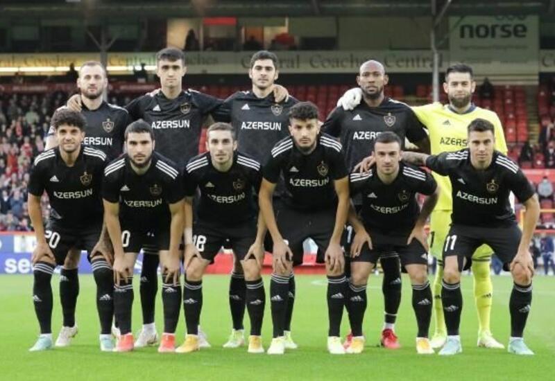 «Карабах» провел первый матч в рамках группового раунда Лиги конференций УЕФА