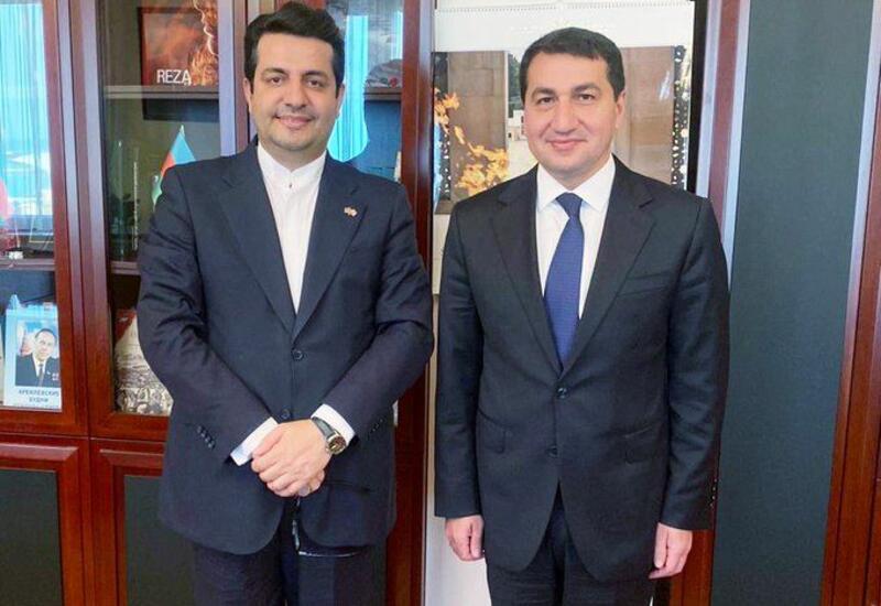 Хикмет Гаджиев обсудил с послом отношения между Азербайджаном и Ираном