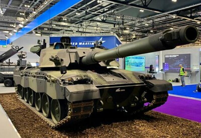 В Британии представили модифицированный танк Challenger 3