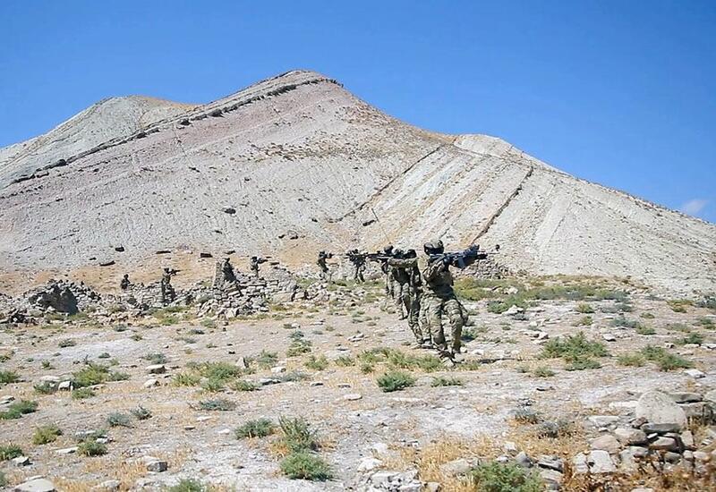 «Три брата – 2021»: спецназ Азербайджана, Турции и Пакистана выполнил боевые задачи