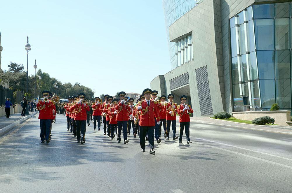 В азербайджанской армии прошли мероприятия, приуроченные к 103-й годовщине освобождения Баку от оккупации