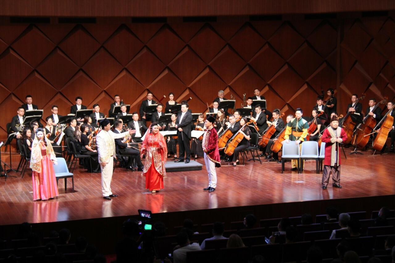 Премьера новой постановки оперетты «Аршин мал алан» в Китае