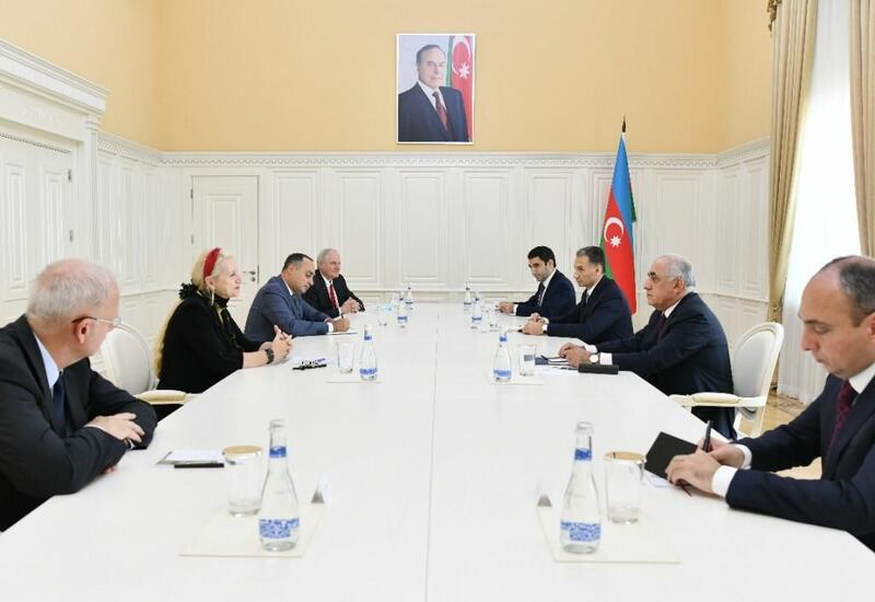 Али Асадов и президент Международной федерации астронавтики обсудили восстановление Карабаха