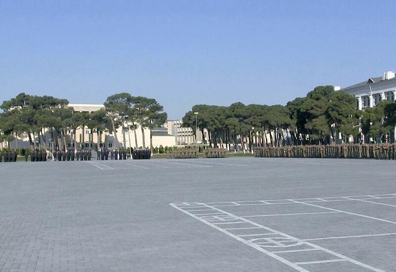 В Военном училище им. Гейдара Алиева прошло мероприятие, посвященное началу учебного периода