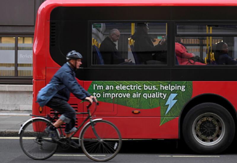 Лондон задумал пересесть на электрические автобусы