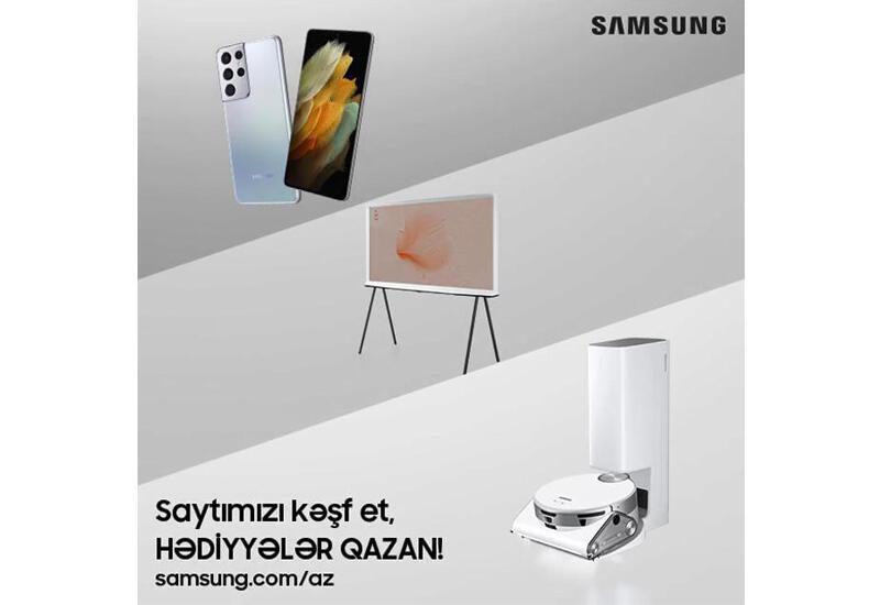 Samsung запускает свой официальный веб сайт в Азербайджане