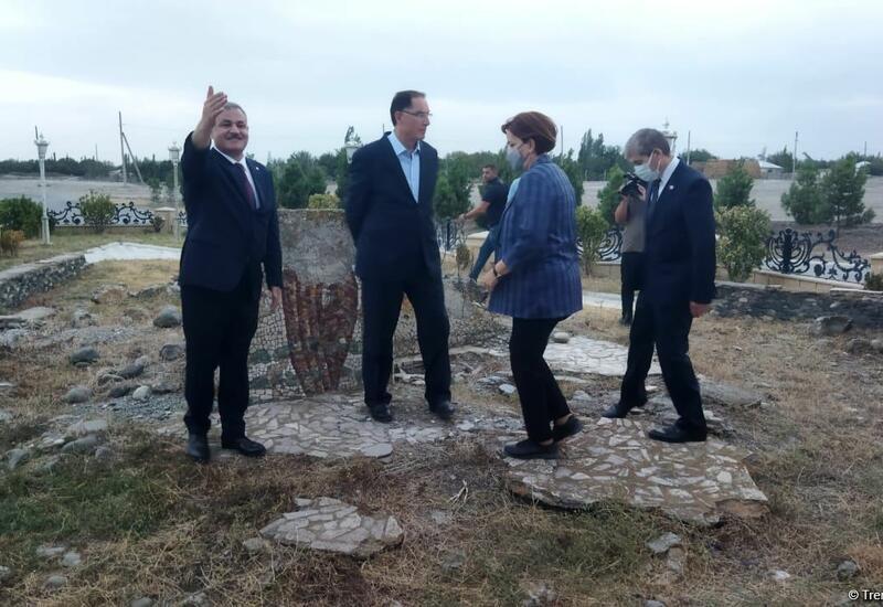 Делегация Ассоциации омбудсменов ОИС осмотрела памятник «Марага-150» в Тертере