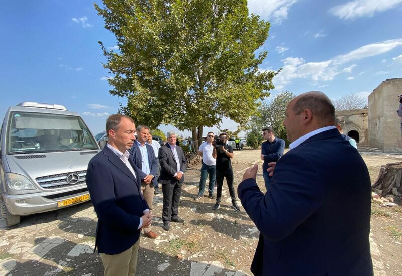 Спецпредставитель ЕС по Южному Кавказу находится в Агдаме