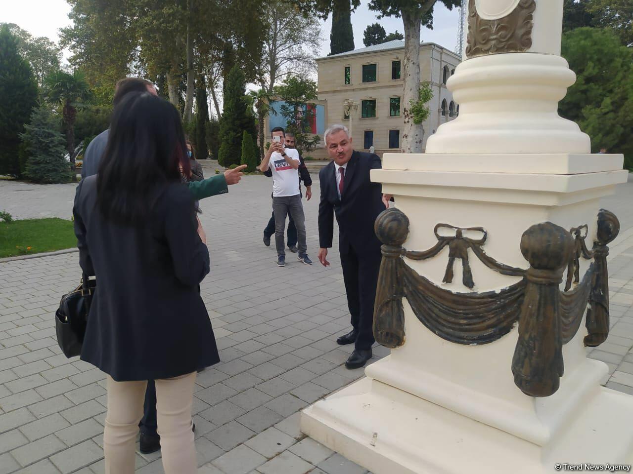 Делегация Ассоциации омбудсменов ОИС совершила поездку в Тертер