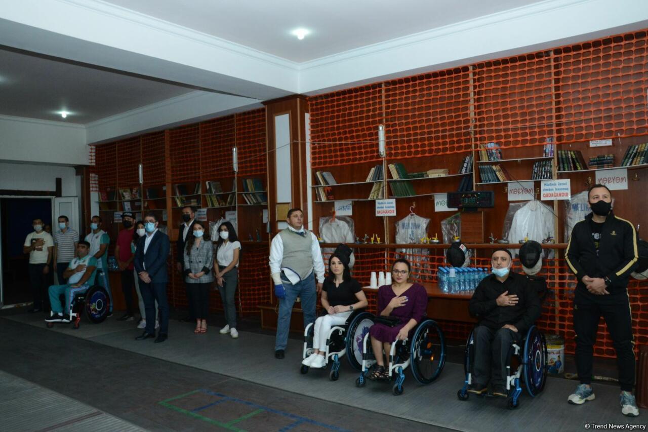 Федерация фехтования инвалидов-колясочников Азербайджана провела мероприятие с участием гази Карабахской войны