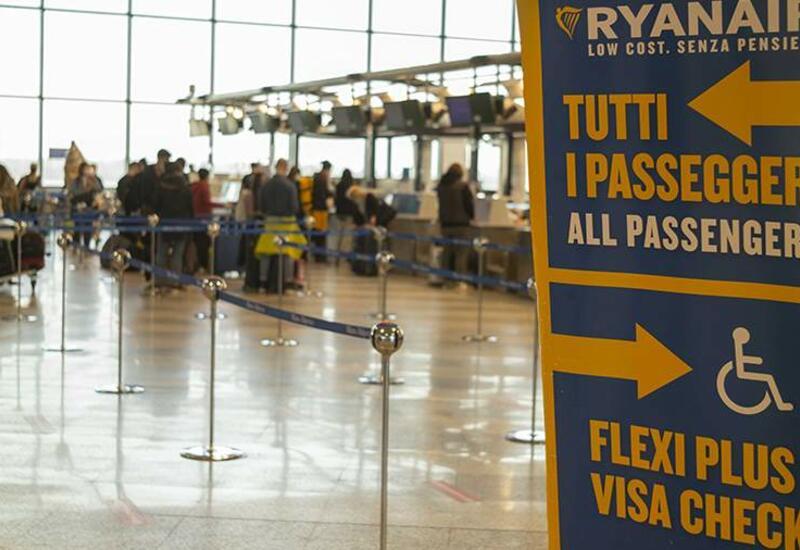 Ливень нарушил работу миланского аэропорта Мальпенса