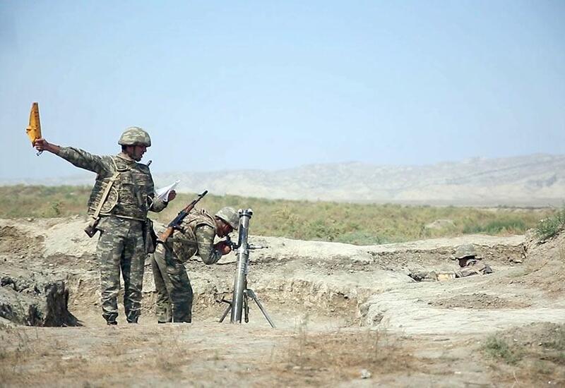 Минометные подразделения ВС Азербайджана проходят боевую подготовку