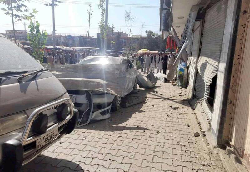 Два человека пострадали в результате взрыва заминированного автомобиля в Кабуле