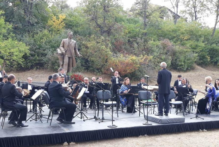 В Шуше проходит концерт в рамках Фестиваля Узеира Гаджибейли