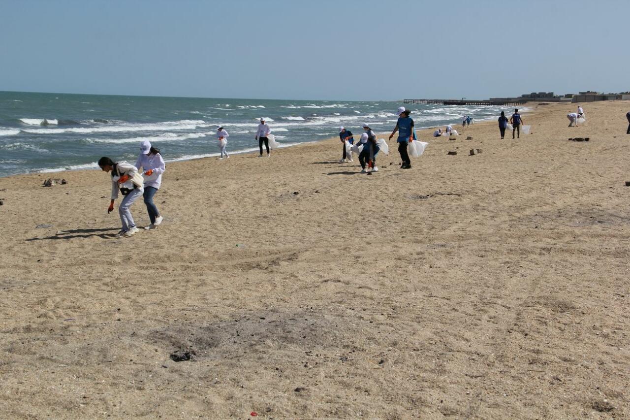 В Баку прошла очередная акция по очистке побережья