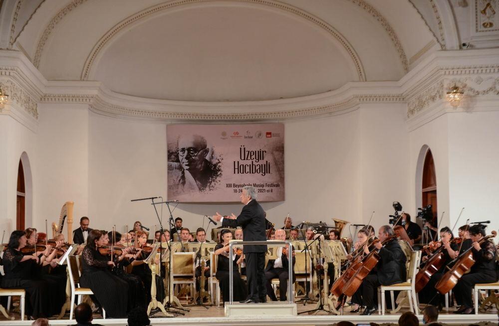 Состоялась церемония торжественного открытия XIII Международного музыкального фестиваля Узеира Гаджибейли