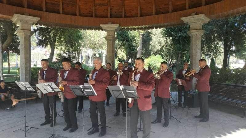 В Парке офицеров прошел концерт в честь Дня национальной музыки