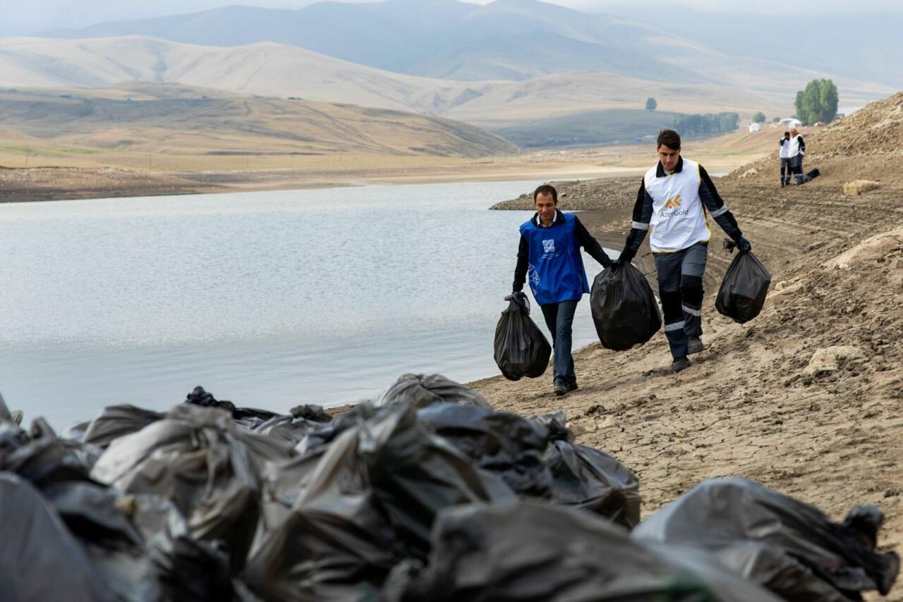 В Дашкесане состоялась экологическая акция