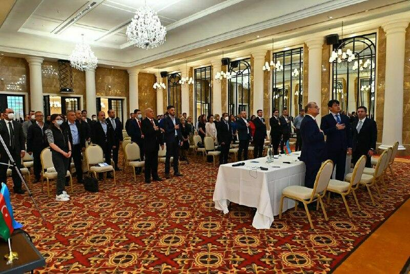 B Берлине состоялась встреча с азербайджанцами Германии