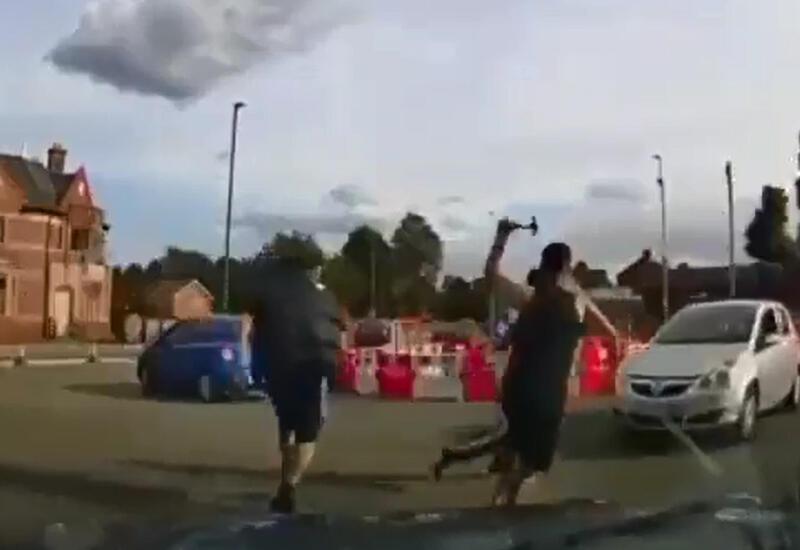Массовая драка мигрантов в Великобритании