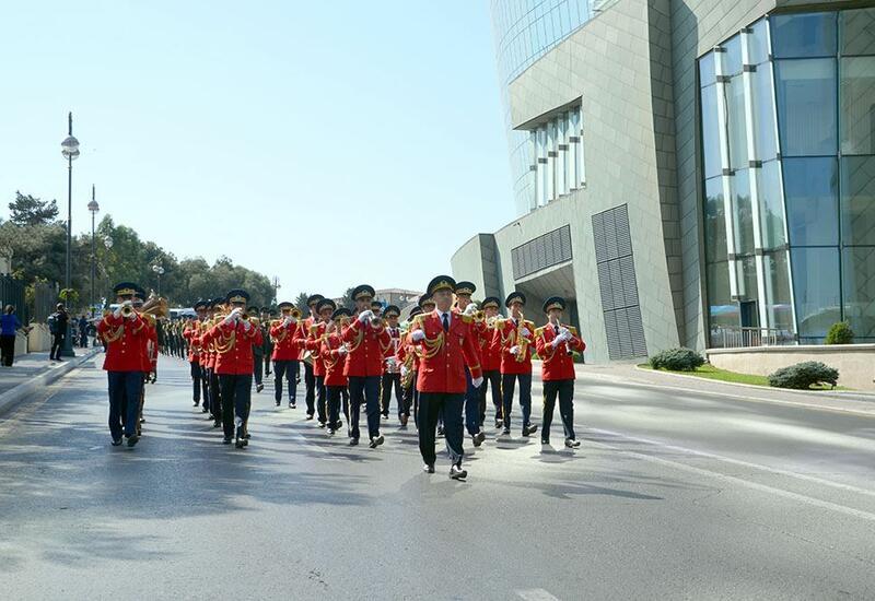 Еженедельный обзор минобороны Азербайджана
