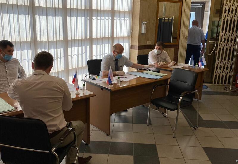 В посольстве России в Баку прошло голосование в связи с выборами в Госдуму
