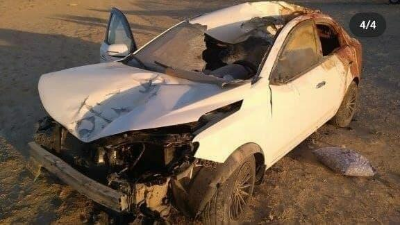 В Казахстане водитель врезался в верблюда и погиб