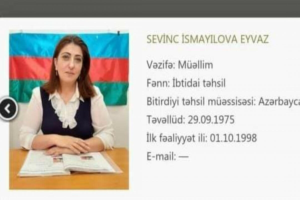 В Баку от коронавируса скончался еще один педагог