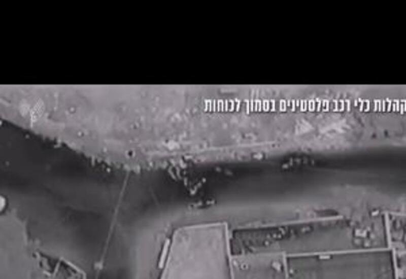 Кадры спецоперации израильских силовиков по поимке беглых преступников