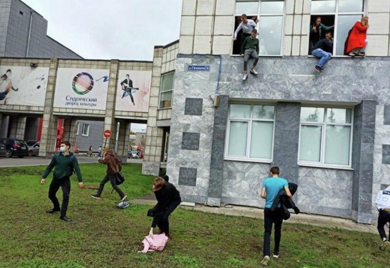 Очевидец рассказал о стрельбе в Пермском университете