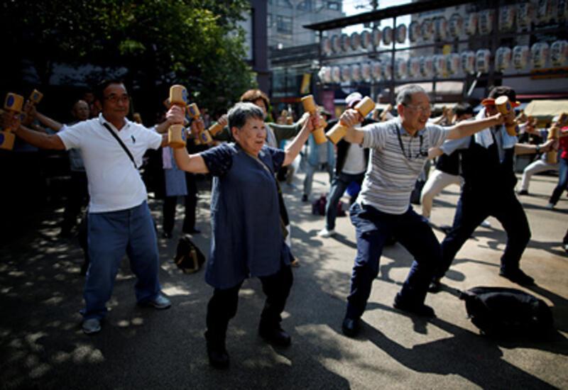 Пожилое население Японии достигло рекордных размеров