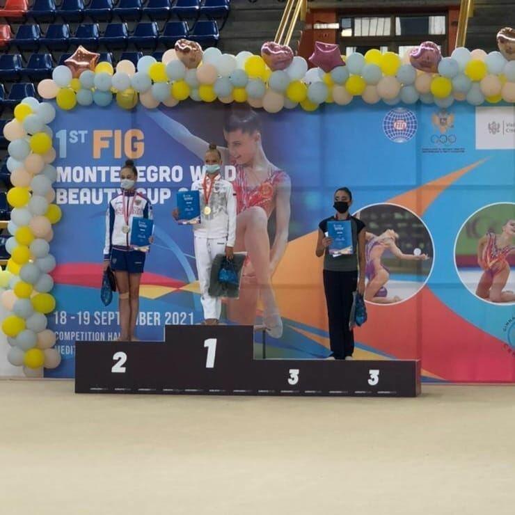 Азербайджанские гимнастки завоевали шесть медалей в Черногории