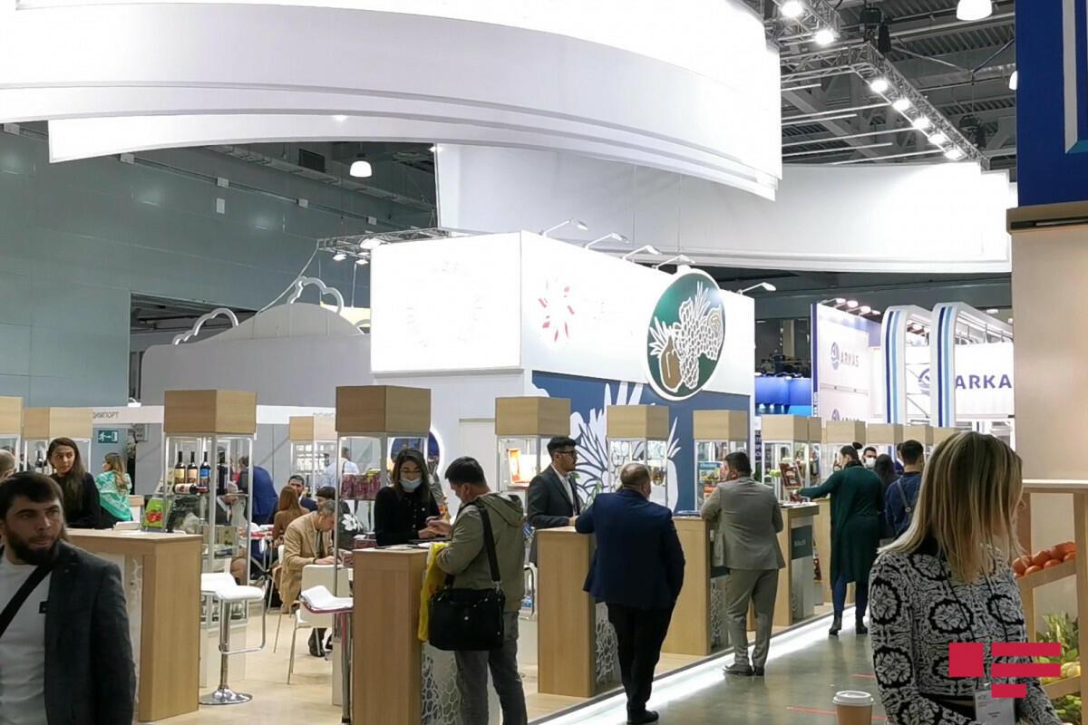 Азербайджанская продукция на выставке WorldFood Moscow 2021