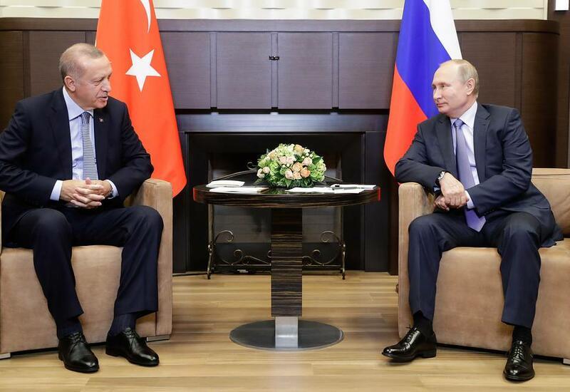 Обнародована дата визита Эрдогана в Россию