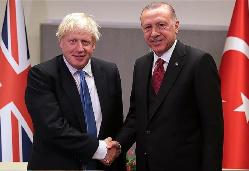 Эрдоган и Джонсон провели переговоры в Нью-Йорке