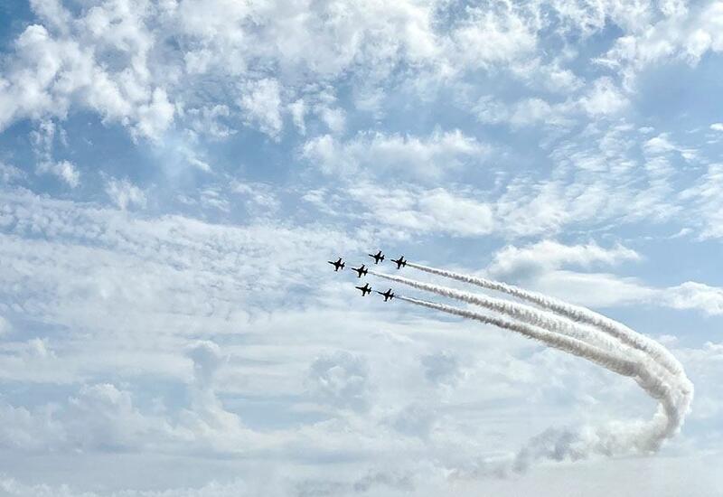 В Турции с восхищением встретили полеты азербайджанских военных летчиков
