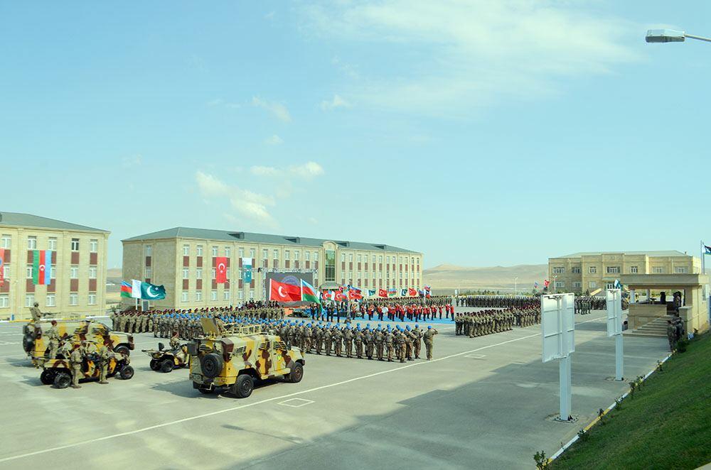 В Баку состоялась церемония закрытия международных учений «Три брата-2021»