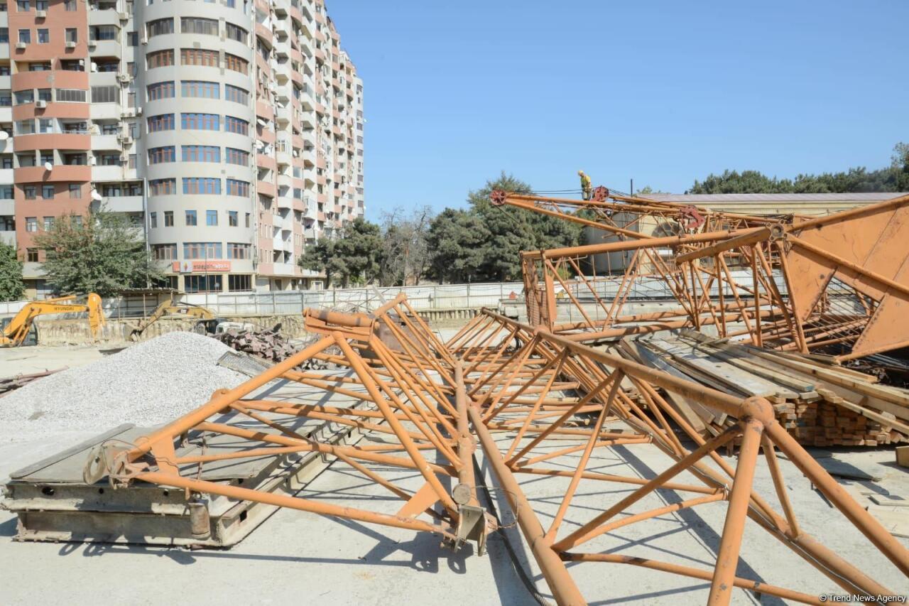 В Баку туннель соединит две станции метро
