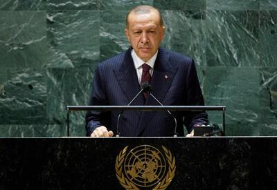 Реджеп Тайип Эрдоган: Азербайджан, воспользовавшись своим правом на самооборону, положил конец оккупации - ВИДЕО