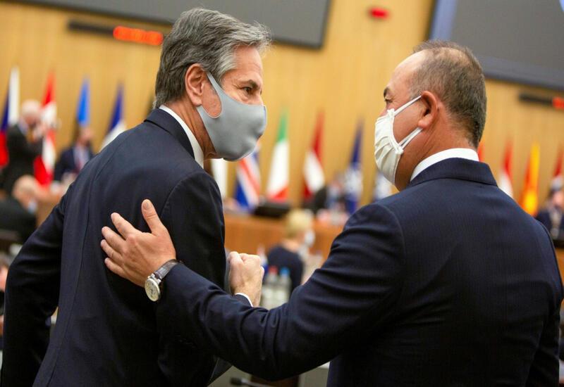 Чавушоглу и Блинкен обсудили Карабах