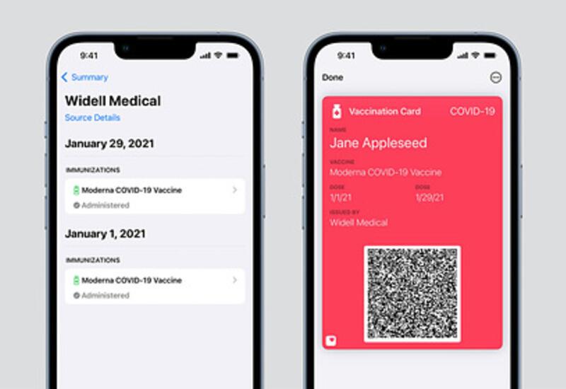 В iPhone появились сертификаты вакцинируемых