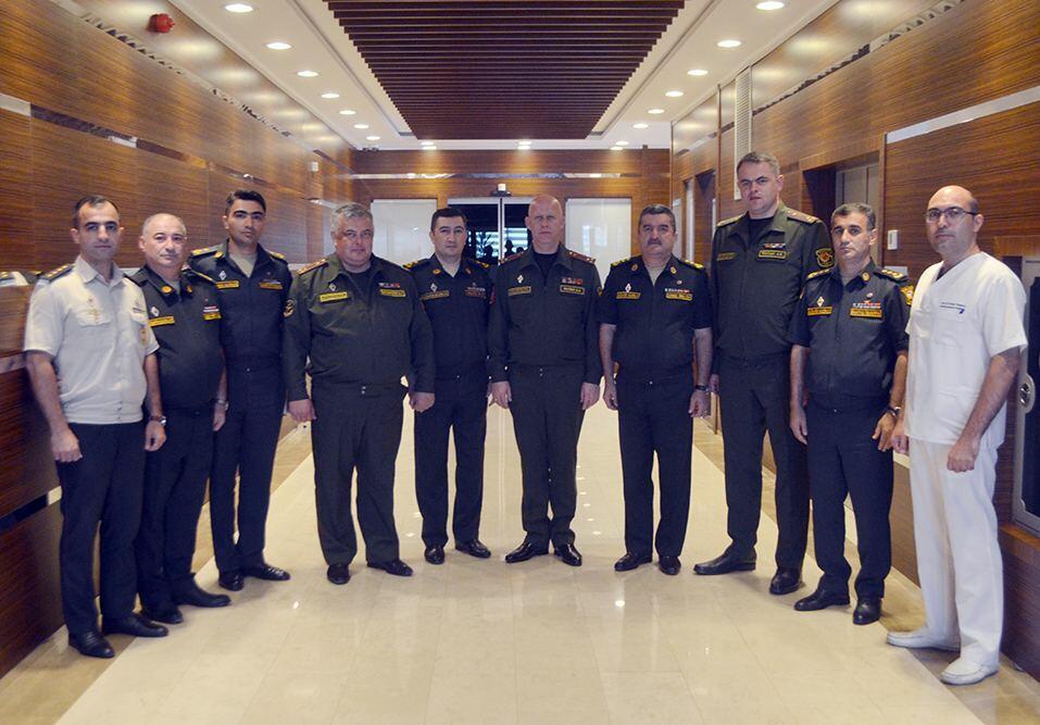 Состоялась рабочая встреча военно-медицинских специалистов Азербайджана и Беларуси