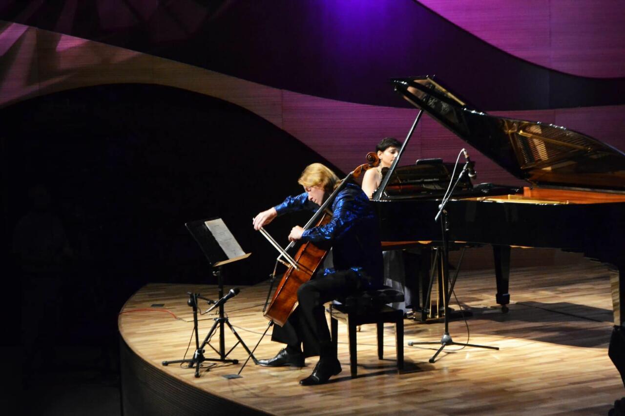 Артистичность и безупречное мастерство – Наргиз Алиярова и Сергей Антонов выступили в Баку