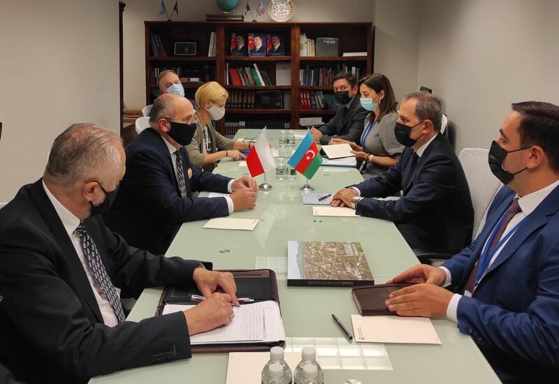 Главы МИД Азербайджана и Польши обсудили стратегическое партнерство между странами